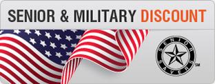 Senior & Military Discount!